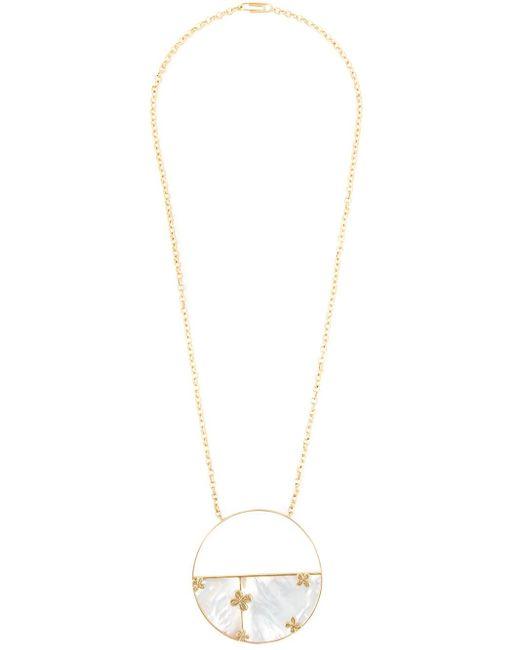 Aurelie Bidermann | Metallic 'bianca' Reversible Mirror Necklace | Lyst