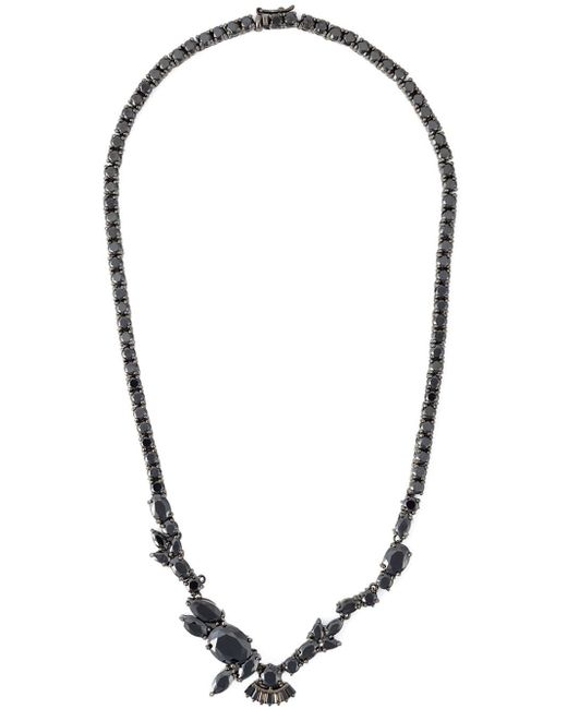 Iosselliani | 'black On Black Memento' Necklace | Lyst