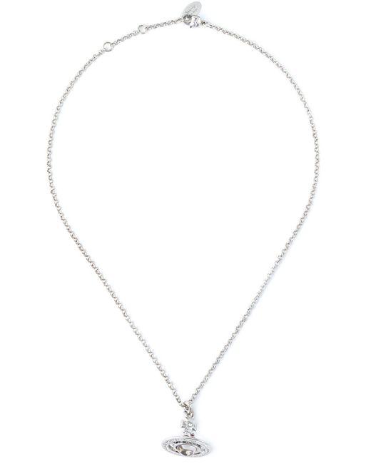 Vivienne Westwood | Metallic Orb Pendant Necklace | Lyst