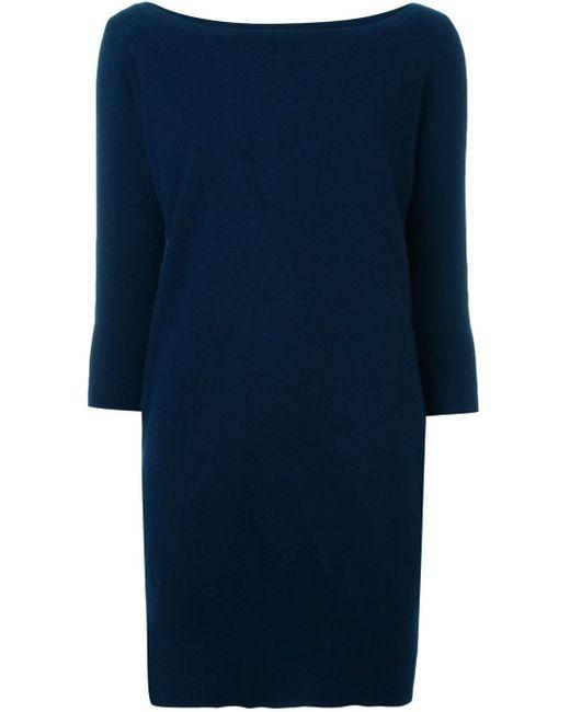 Jay Ahr | Blue - Knitted Dress - Women - Cashmere - 40 | Lyst