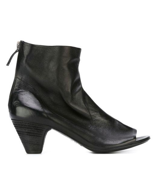 Marsèll | Black Marsèll Open Toe Ankle Boots | Lyst
