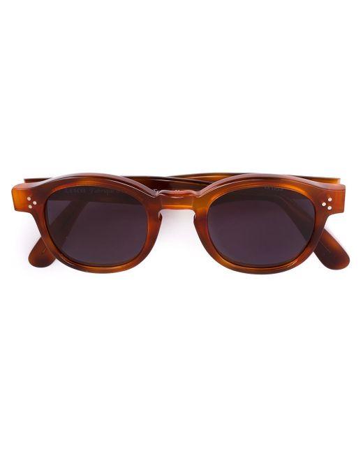Lesca | Brown 'p080s' Sunglasses | Lyst