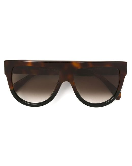Céline | Gray - 'shadow' Sunglasses - Women - Acetate - One Size | Lyst