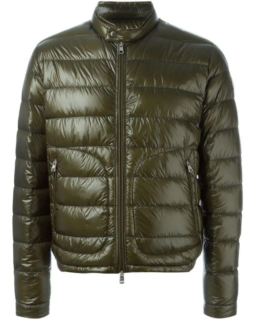 Moncler | Green - 'acorus' Padded Jacket - Men - Feather Down/polyamide - 4 for Men | Lyst