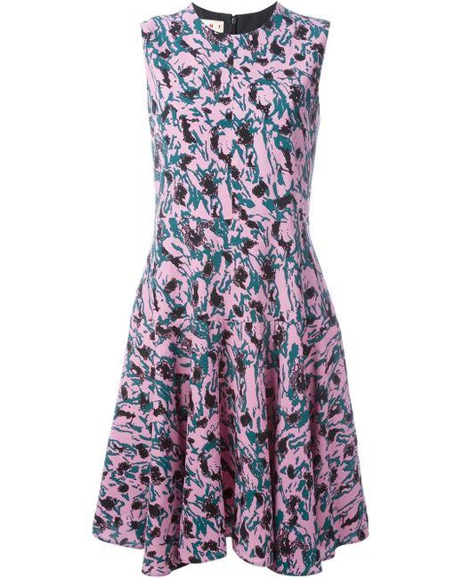 Marni | Multicolor Printed Dress | Lyst