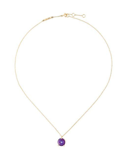 Delfina Delettrez | Metallic 'magic Triangle' Diamond Necklace | Lyst