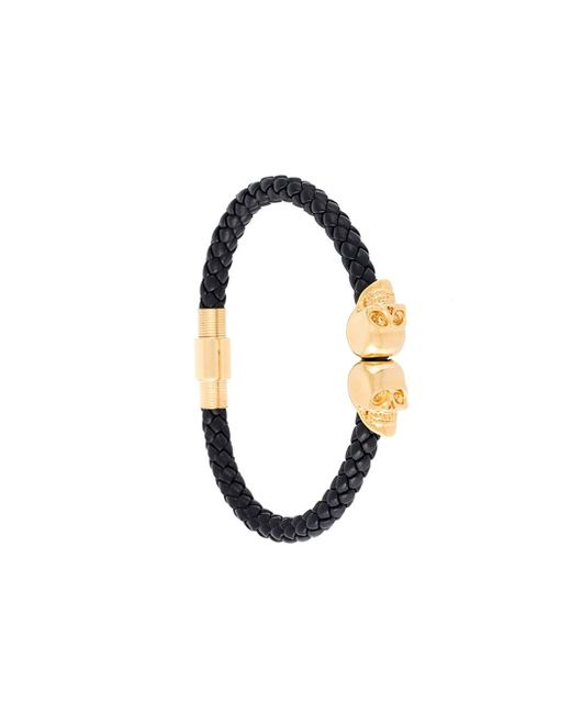 Northskull | Black Skull Bracelet for Men | Lyst