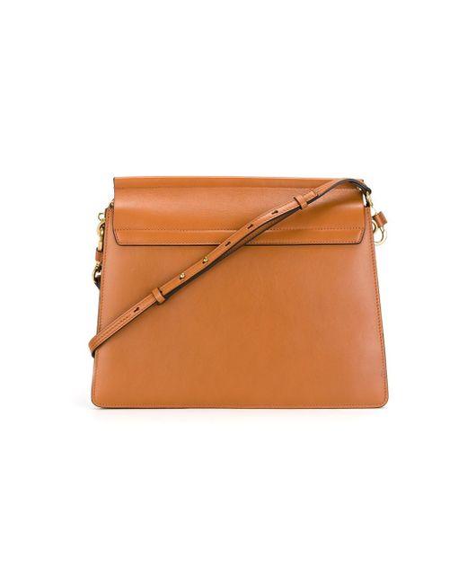chloe bags - Chlo�� Chlo�� Faye Shoulder Bag in Red (BROWN) - Save 20%   Lyst