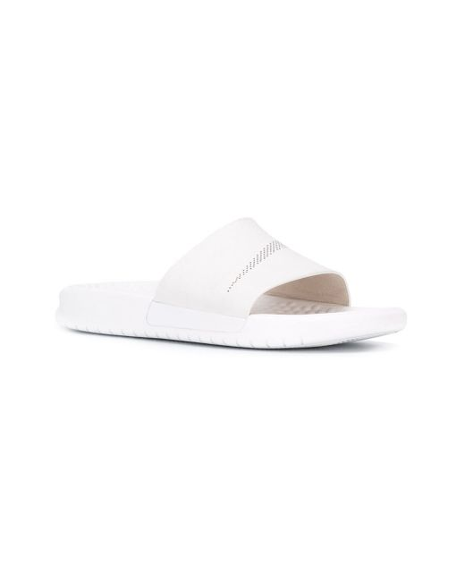 Nike 'benassi Slide Lux' Sliders in White for Men | Lyst