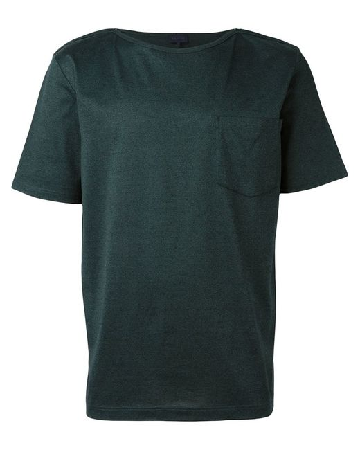 Lanvin Boat Neck T Shirt In Green For Men Lyst