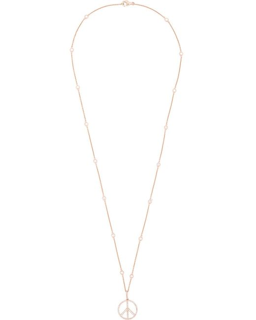 Rosa De La Cruz | Pink 'peace' Necklace | Lyst