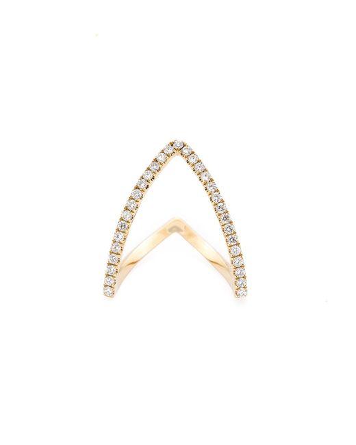 Yvonne Léon | Metallic 'viviane' 18k Yellow Gold Ring | Lyst