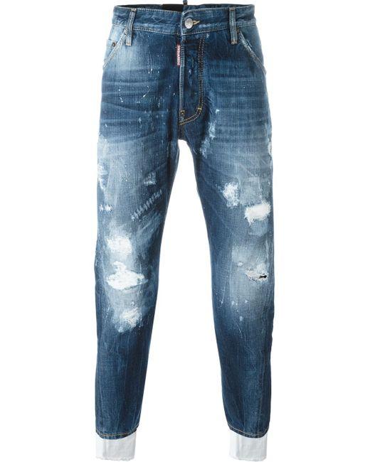 DSquared² | Black Kenny Twist Jeans for Men | Lyst
