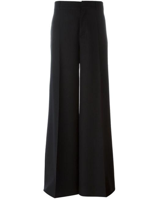 Maison Margiela | Black Tailored Straight Trousers | Lyst