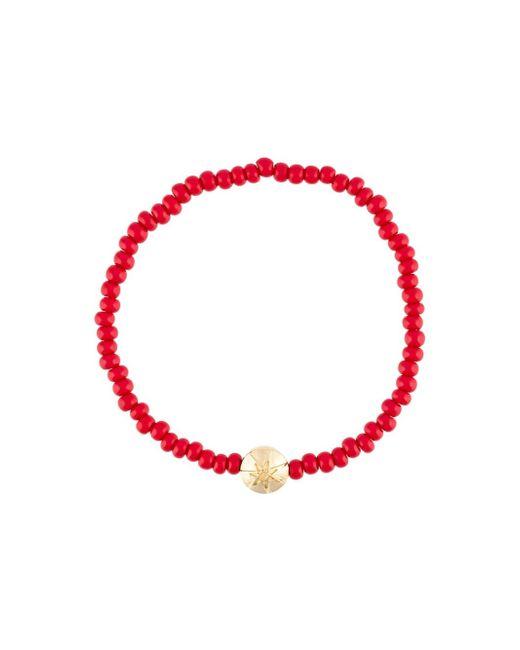 Luis Morais | Blue 14kt Gold Large Star Mantra Charm Bracelet | Lyst