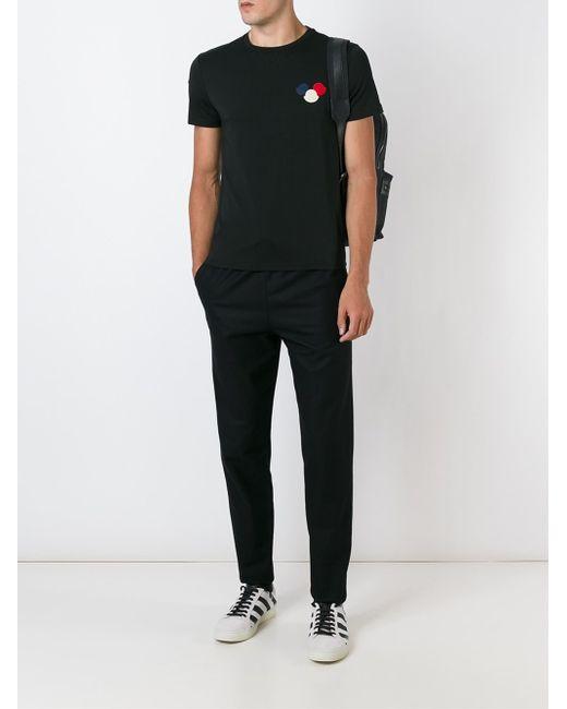 mens black moncler t shirt