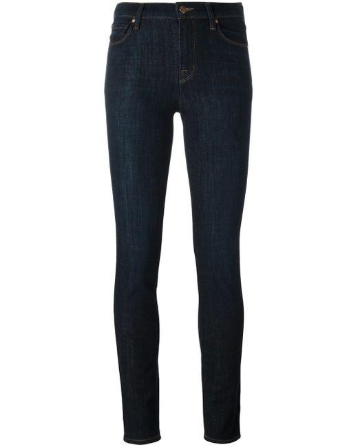 J Brand   Blue Bardot High-rise Pencil-leg Jeans   Lyst
