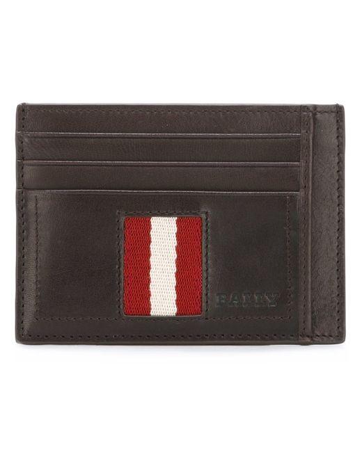 Bally | Brown Stripe Detail Wallet for Men | Lyst