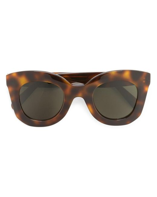 Céline | Gray 'marta' Sunglasses | Lyst