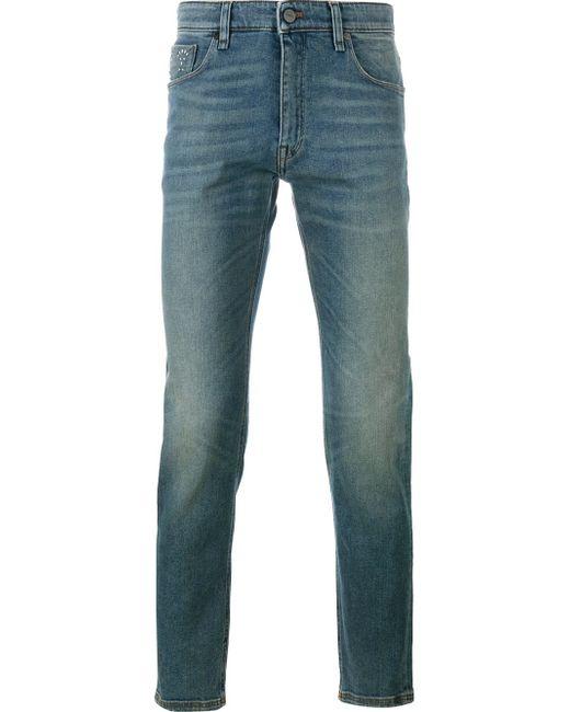 Fendi | Blue Slim Fit Jeans for Men | Lyst