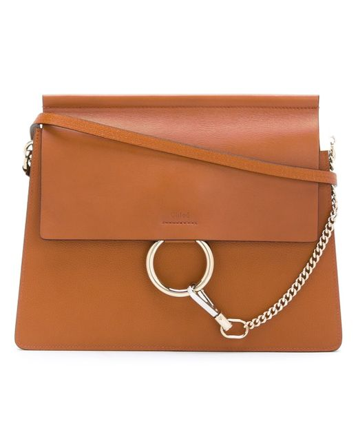 Chloé | Brown 'kurtis' Shoulder Bag | Lyst
