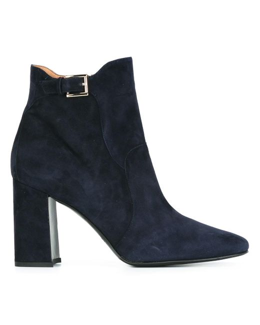 Fratelli Rossetti   Blue Round Toe Ankle Boots   Lyst