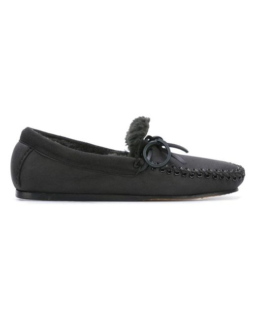 Isabel Marant | Black 'ettyni' Loafers | Lyst
