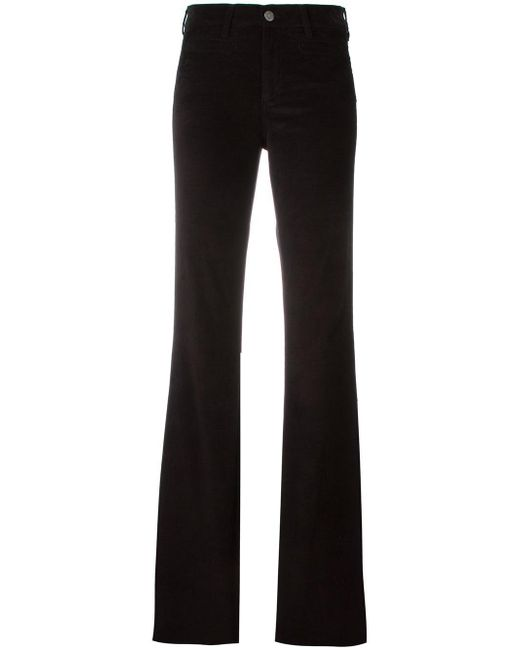 MiH Jeans | Black Flared Trousers | Lyst