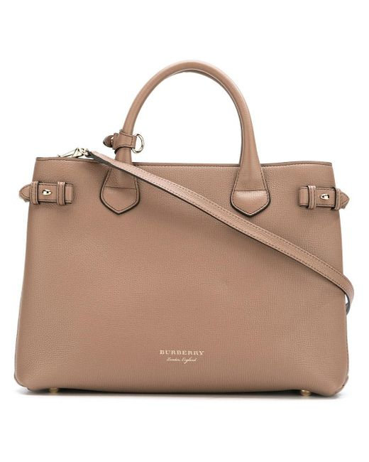 Burberry   Brown 'house Check' Tote Bag   Lyst