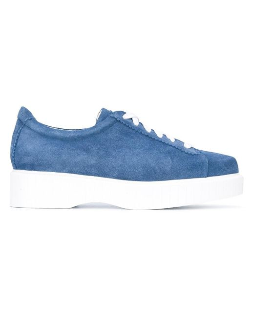 Robert Clergerie | Blue Pasket Sneakers | Lyst