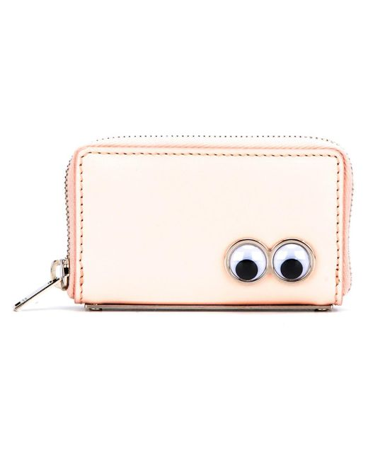 Sophie Hulme | Pink Zip Around Wallet | Lyst