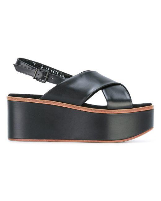 Robert Clergerie | Black Flix Sandals | Lyst