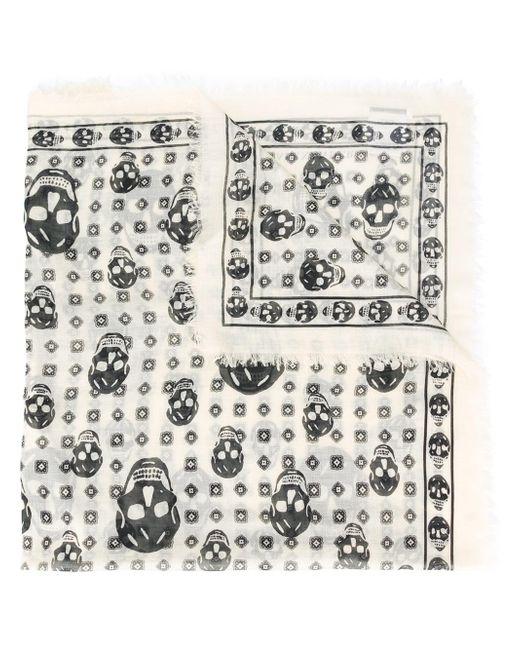 Alexander McQueen | Multicolor Skull Print Scarf for Men | Lyst