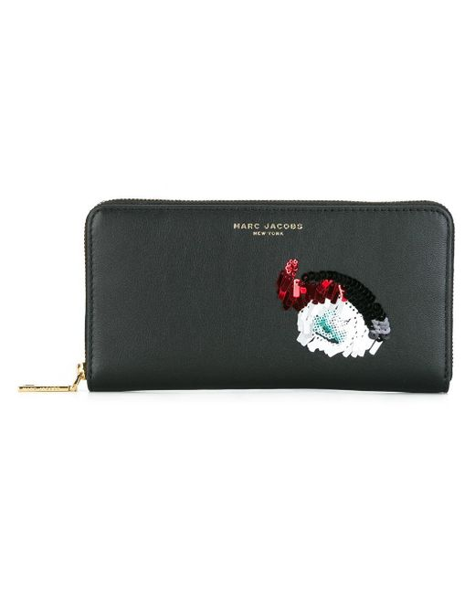 Marc Jacobs | Black Vintage Collage Continental Wallet | Lyst