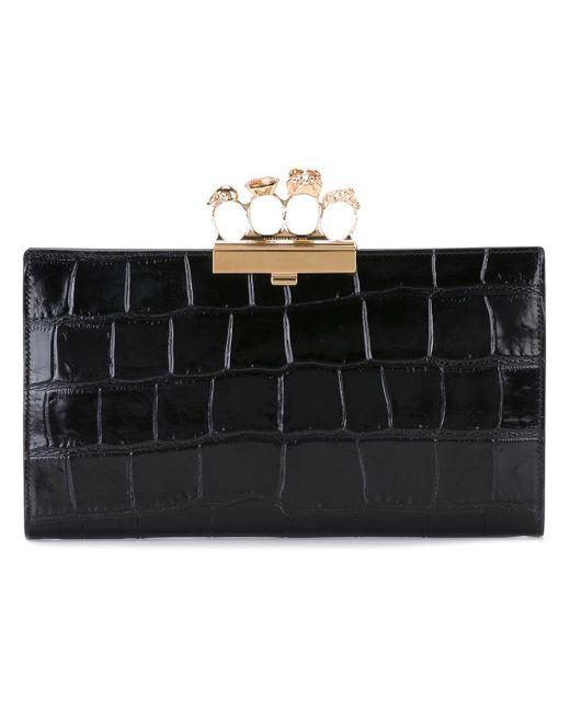 Alexander McQueen | Black Knuckle Box Case | Lyst