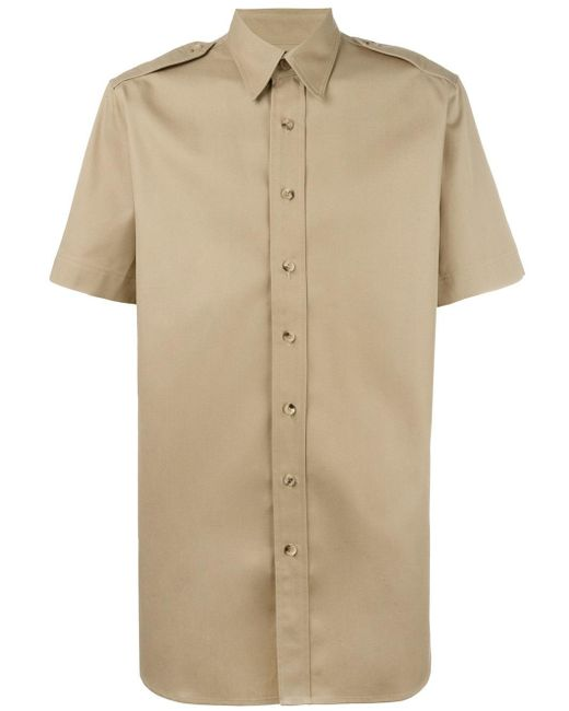 Palm Angels | Natural College Safari Shirt for Men | Lyst