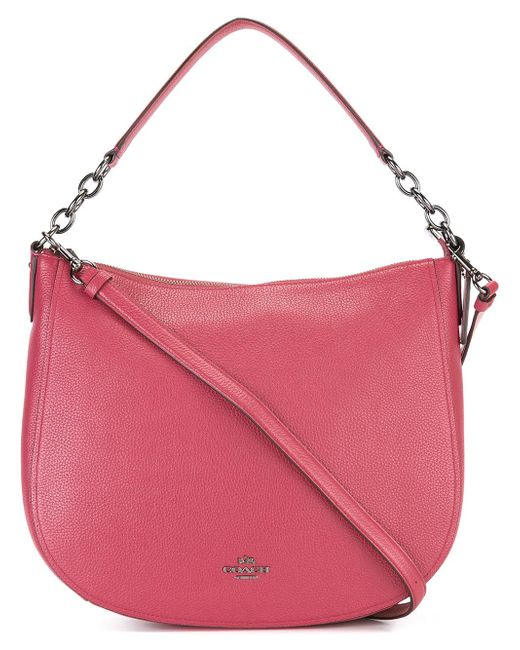 COACH | Pink Adjustable Strap Tote | Lyst