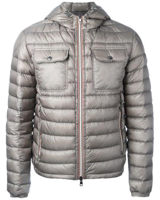 Moncler | Gray Douret Padded Jacket for Men | Lyst