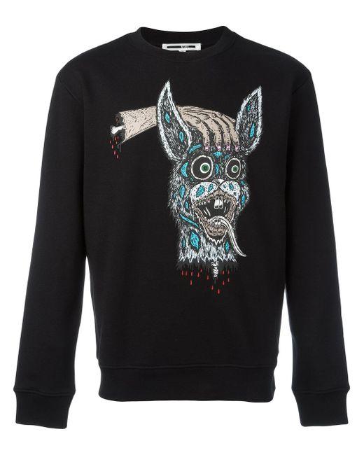 McQ Alexander McQueen | Black Decapitated Bunny Print Sweatshirt for Men | Lyst