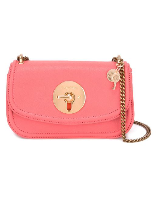 See By Chloé | Pink Lois Cross-body Bag | Lyst