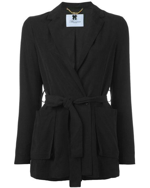 Blumarine | Black Tie-waist Blazer | Lyst