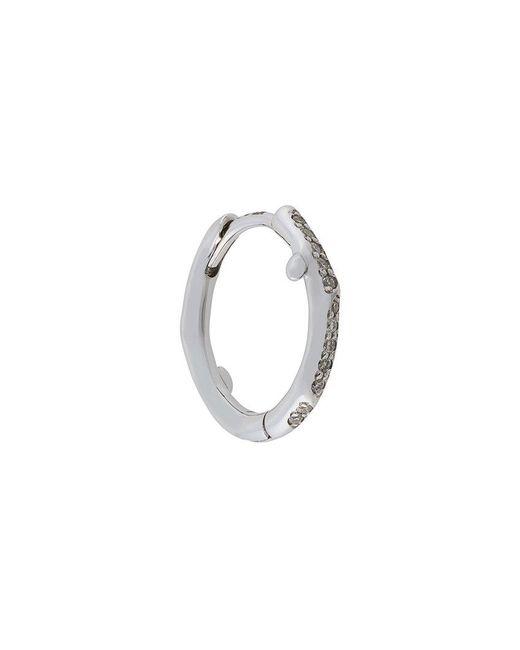 Shaun Leane | Metallic Cherry Branch Diamond Hoop Earring | Lyst