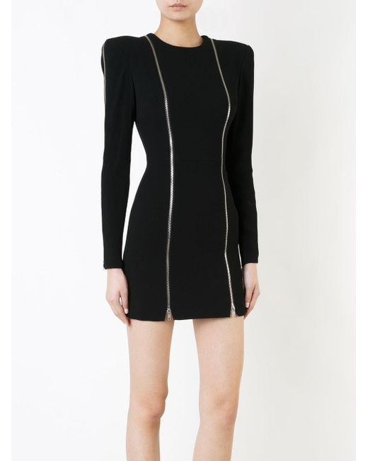 40e96293810 Alex perry Amber Dress in Black