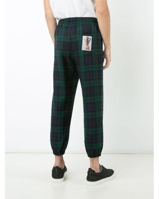 alexander wang rear photo detail tarten trousers in green for men lyst. Black Bedroom Furniture Sets. Home Design Ideas