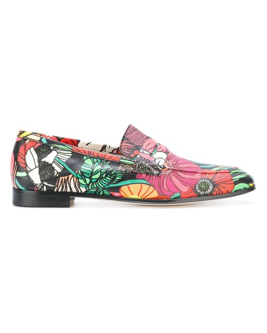 Paul Smith | Multicolor Mocassini Floreali | Lyst