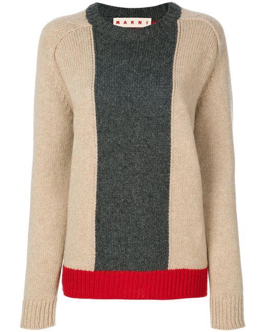 Marni   Multicolor Colour Block Sweater   Lyst