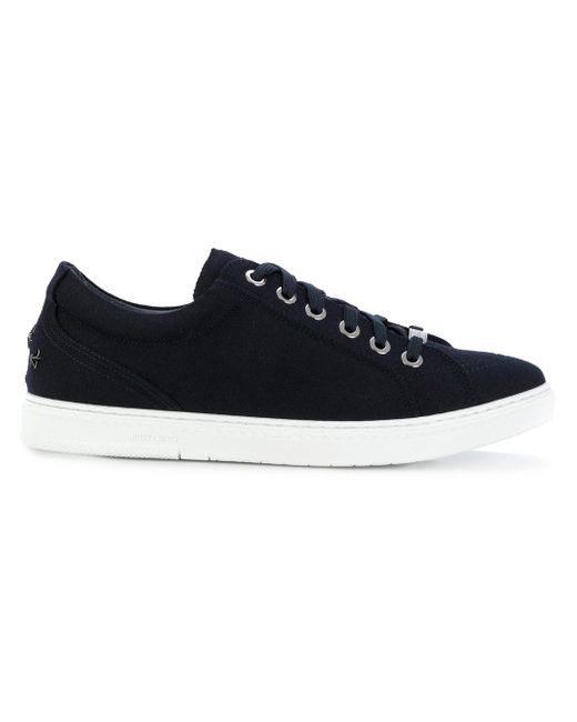 Jimmy Choo | Blue Lace-up Sneakers for Men | Lyst