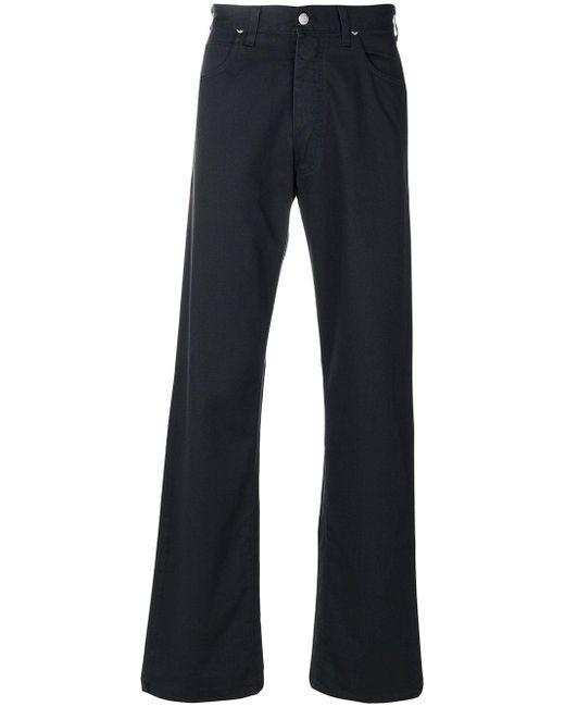 Armani Jeans | Blue Bootcut Jeans for Men | Lyst