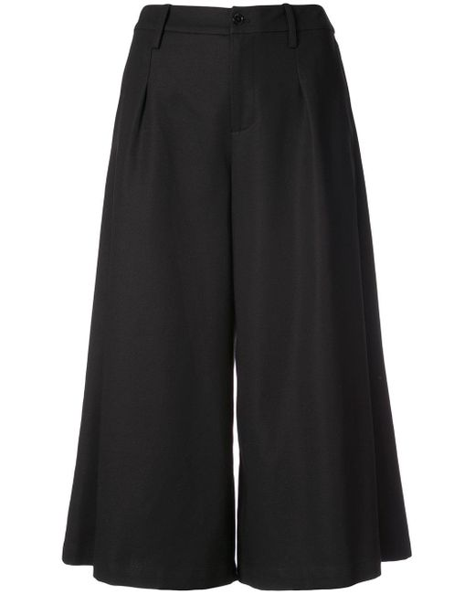 Co. | Black Cropped Trousers | Lyst