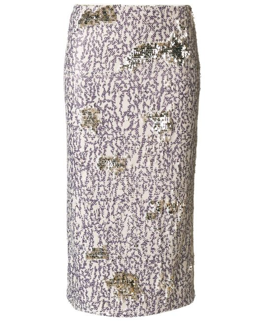 Dorothee Schumacher | Multicolor Multi-coloured Sequinned Skirt | Lyst